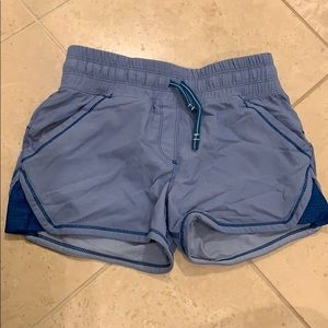 Almost new blue ivivva shorts!!!